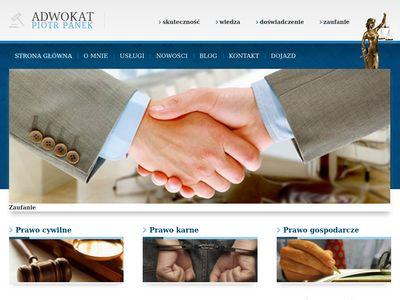 Piotr Panek Adwokaci Warszawa