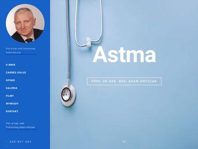 Adamantczak.pl - astma Łódź