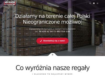 AB RACK regały magazynowe