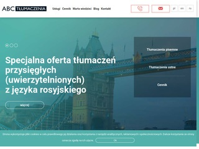 Abctlumaczenia.eu przysięgłe Warszawa