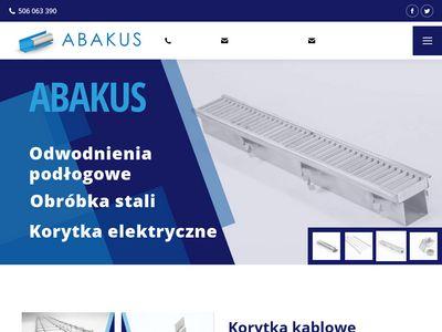 Abakuskratki.pl - korytka ściekowe