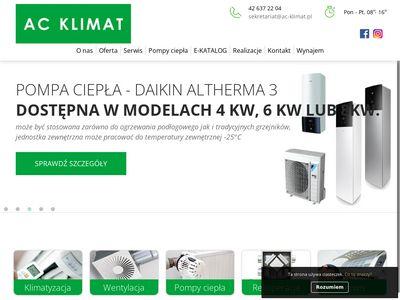 AC KLIMAT Centrale klimatyzacyjne