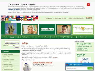 Aloes-uroda.pl Forever Living