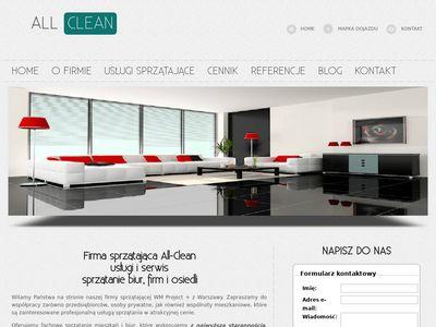 All-clean.pl sprzątanie biur Warszawa