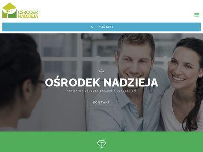 Alkoluz.pl Ośrodek Nadzieja leczenie alkoholizmu