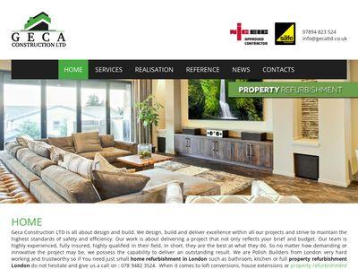 House Extensions London - GECA LTD