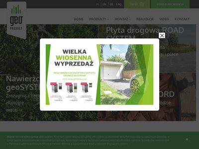Geoproduct.pl obrzeża trawnikowe i eko kratka