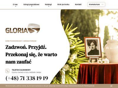 Zakład pogrzebowy Gloria