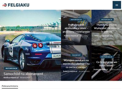 Felgiaku.pl opony alufelgi akumulatory Piła