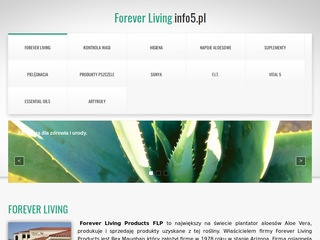Foreverliving.info5.pl - blog