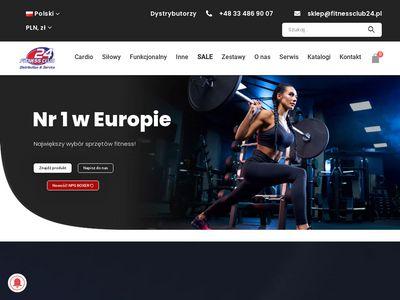 Fitnessclub24.pl sprzęt