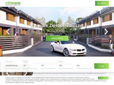 Eximaco-development.pl domy pod Warszawą