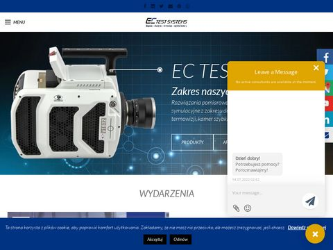 EC Test Systems pomiary