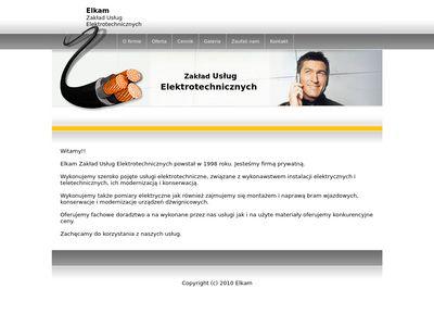 Elkam zakład usług elektrotechnicznych