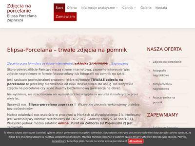 Zdjęcia na porcelanie Warszawa - elipsa-porcelana.pl