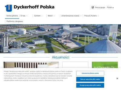 Dyckerhoff Polska Sp. z o.o. budownictwo
