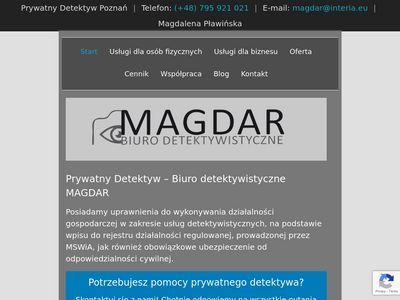 Detektywmagdar.pl Poznań