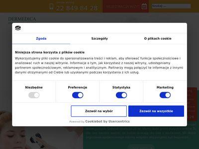 Dermedica.com.pl usuwanie znamion Warszawa