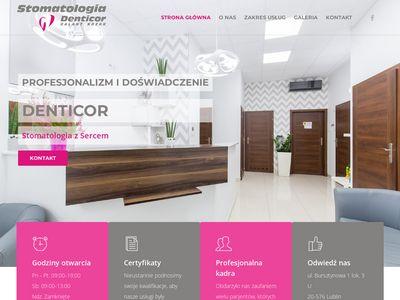 Denticor.pl - leczenie stomatologiczne Lublin