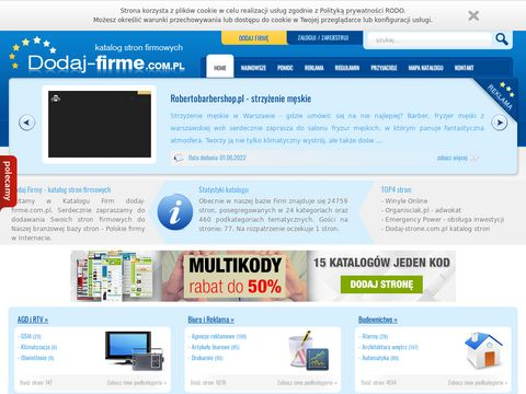 Dodaj-firme.com.pl reklama dla firm
