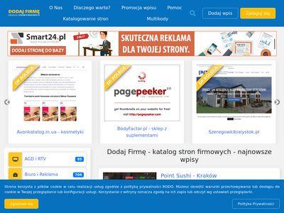 Dodaj-firme.com.pl reklama dla firm