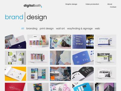 Digitalbath - projektowanie graficzne Wrocław