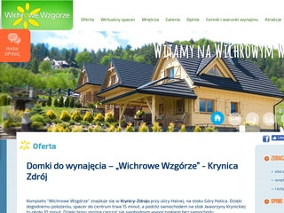 Krynica-domki.net domki letniskowe w górach