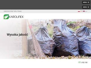Karolinex kaptury foliowe producent