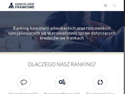 Kancelariefrankowe-ranking.pl