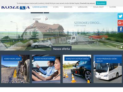 Koszela nauka jazdy we Wrocławiu