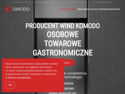 Komodo serwis - windy osobowe i towarowe