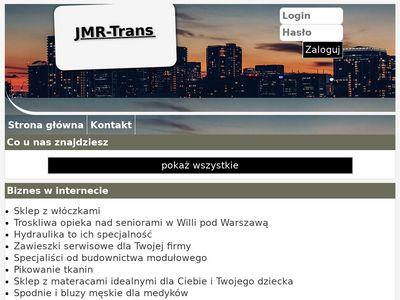 JMR-Trans Warszawa kruszenie gruzu