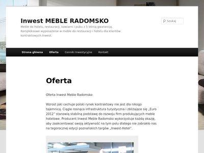 Inwest meble Radomsko