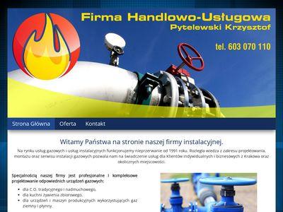 FHU projektowanie sieci gazowych