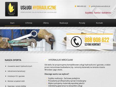 Hydraulik-wroclaw.com usługi hydrauliczne
