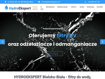 Hydroekspert.com serwis filtrów do wody Bielsko