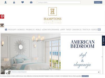 Hamptons.pl - krzesło tapicerowane