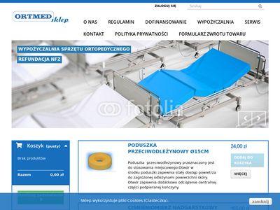 Www.ortmed.pl - sklep ortopedyczny Warszawa