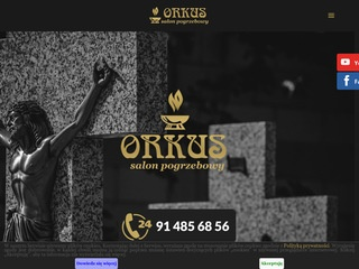 ORKUS trumny Szczecin