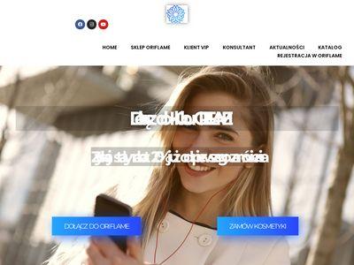 Kosmetyki Oriflame - Konsultantka Oriflame