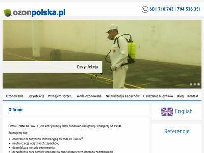 Ozonpolska.pl - neutralizator zapachów