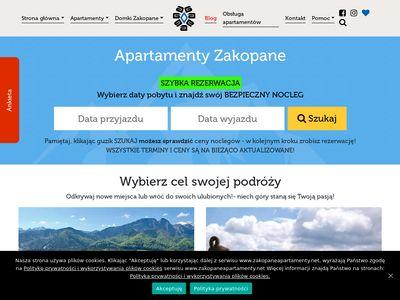 Ogrodygorskie.pl apartamenty w Zakopanem