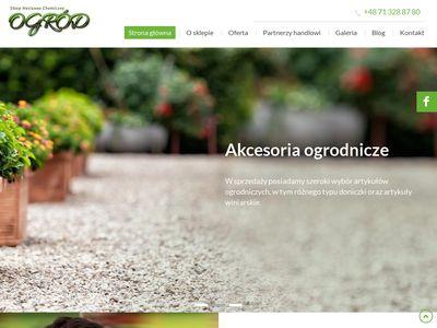 Sklep nasienno-chemiczny Ogród