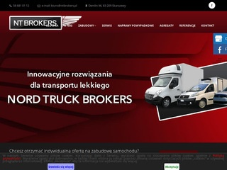 Nord Truck Brokers mobilne bary gastronomiczne