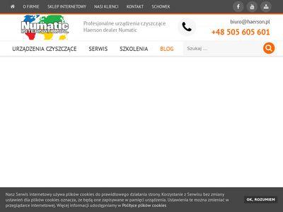 Numatic-haerson.pl - urządzenia czyszczące
