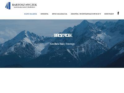 Nyczek.pl kancelaria radcy prawnego