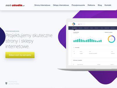 Net-studio.pl strony internetowe Bielsko