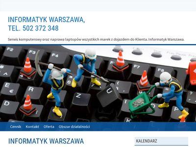Naprawakomputera.waw.pl informatyk Warszawa