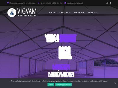 VIGVAM producent namiotów halowych