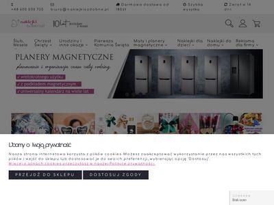 Naklejkiozdobne.pl na ścianę